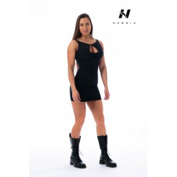 Nebbia Supplex šaty 217 - černé