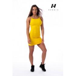 Nebbia Supplex šaty 219 - žlutá