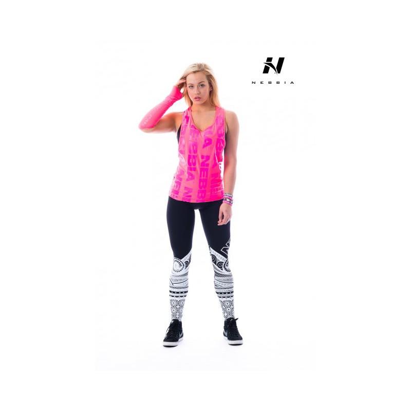 Nebbia Tílko neon 226 - růžové 0c8b93e291