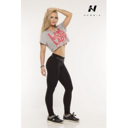 Nebbia Top Body 261 - šedá
