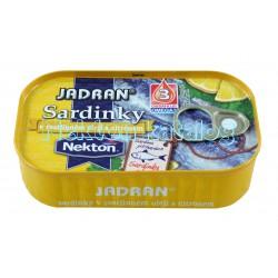 Nekton - Sardinky v rostlinném oleji s citrónem Jadran