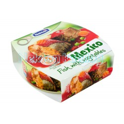 Nekton - Opečená ryba se zeleninou na mexický způsob