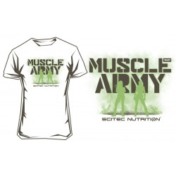 Scitec Nutrition Musle Army Girl White