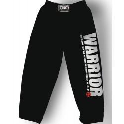 Bizon Gym - Tepláky Warrior bílý potisk