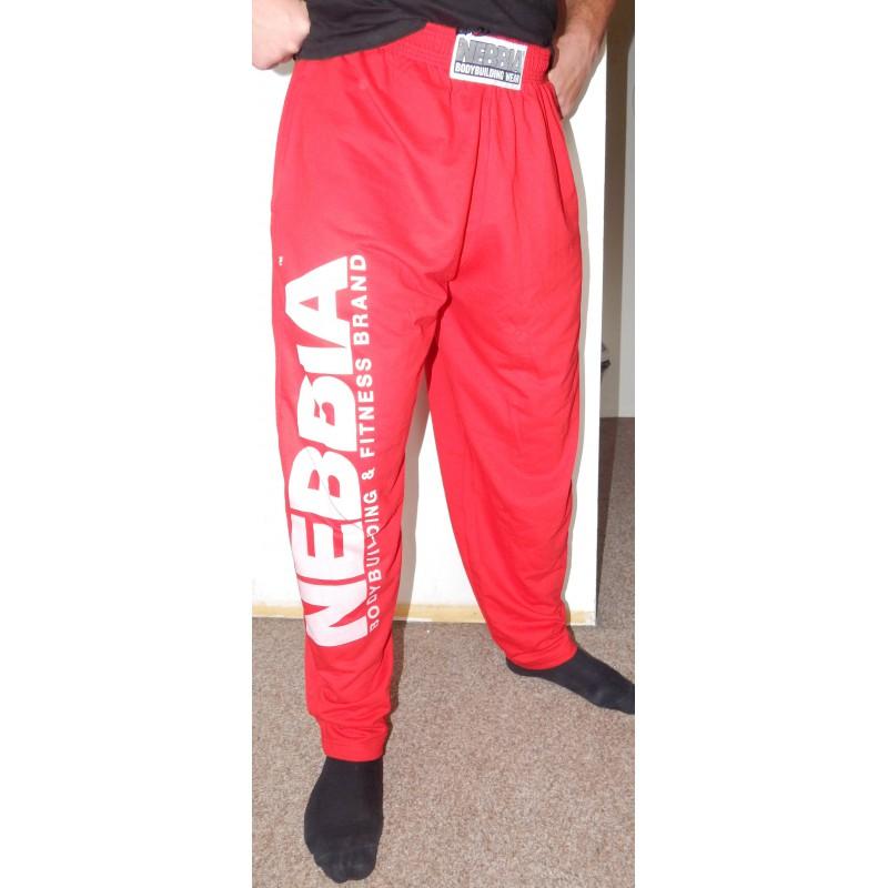 Oblečení Pánské fitness oblečení Fitness tepláky Nebbia HardCore tepláky  310. Obrázek 8d3a76088c7