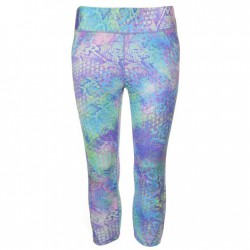 USA Pro Three Quarter Leggings - Colour Snake