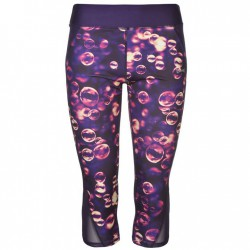 USA Pro Three Quarter Leggings - Bubble AOP