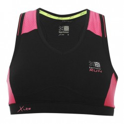 Karrimor Xlite Bra Top Ladies - Black/Pnk Crush