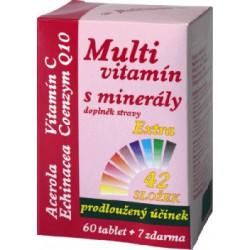 Multivitamín s minerály 42 složek 67tbl