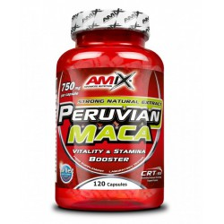 Amix Nutrition Amix Peruvian Maca 120 kapslí