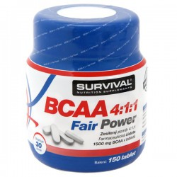 Survival BCAA 4:1:1 Fair Power 150 tablet