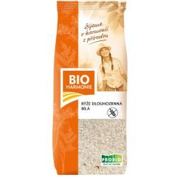 Rýže dlouhozrnná bílá BIOHARMONIE 500g