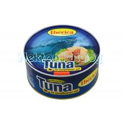 Tuňák ve slunečnicovém oleji 1000g