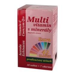 MedPharma Multivitamín s minerály 42 složek 37tbl