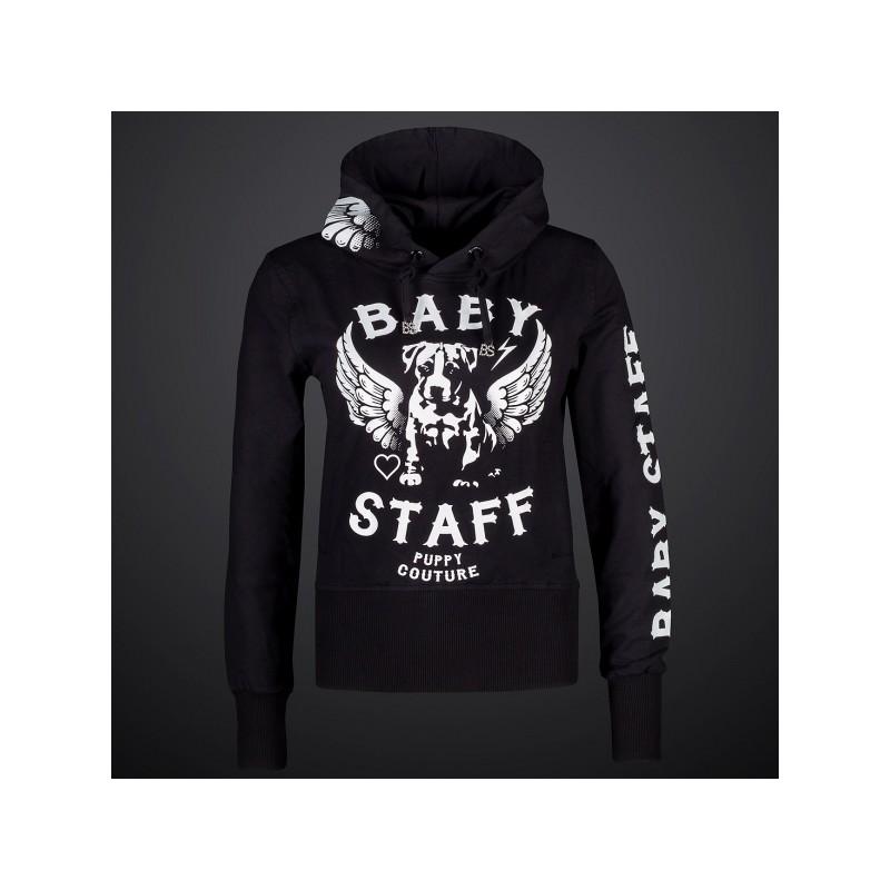 Babystaff - dámská mikina AMS-0756B Helos - Černá 54b77eed9d