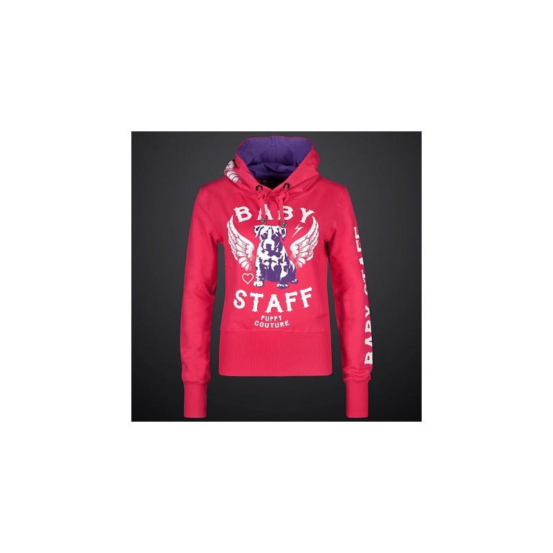 d895dc3f695 Babystaff - dámská mikina AMS-0756B Helos - Růžová