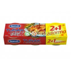 Nekton - Tuňák v rajčatové omáčce 2+1 zdarma - 3x80g