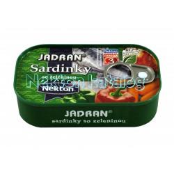 Nekton - Sardinky se zeleninou 125g