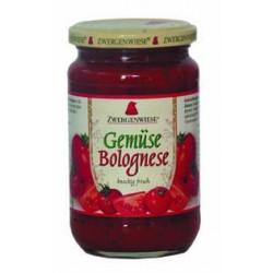 Omáčka boloňská zeleninová ZWERGENWIESE 350g