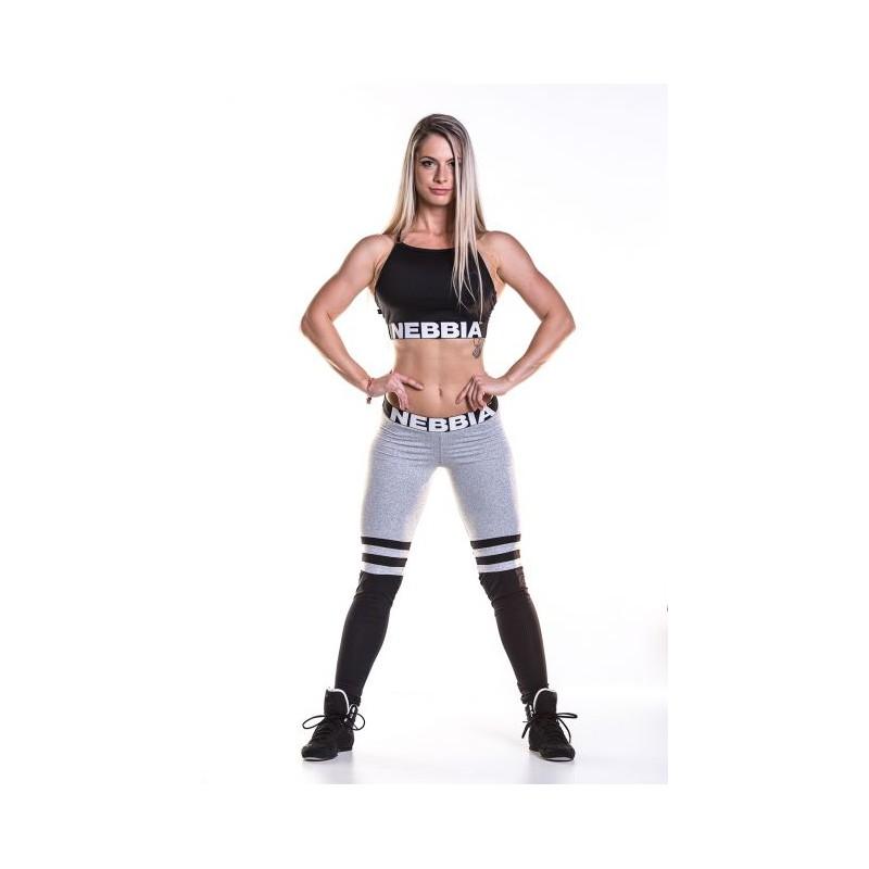 ... oblečení Fitness legíny Nebbia Legíny Over The Knee 286 šedá. Obrázek cf91a6bd49