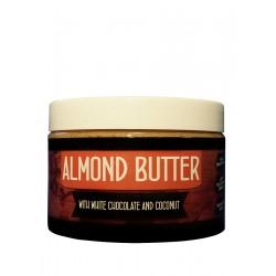 Titánus - Mandlové máslo s bílou čokoládou a kokosem 500g