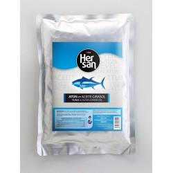 Tuňák se slunečnicovým olejem kousky 1KG - HerSan