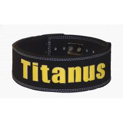 Fitness Opasek s pákovou přezkou 10/8 Titánus - černý