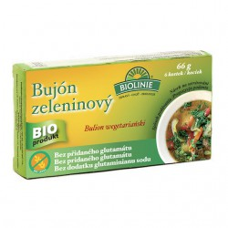 BIOLINIE bujón zeleninový BIO - kostky 6x0,5l
