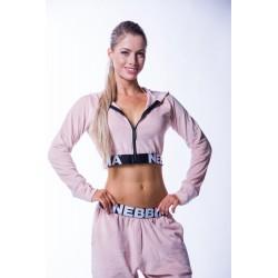 Nebbia Velvet jacket 636 - lososová