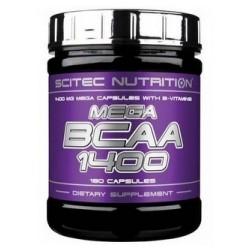 Scitec Nutrition Mega BCAA 1400 - 180 caps.