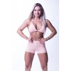 Nebbia High waist N's shorts 648 lososové