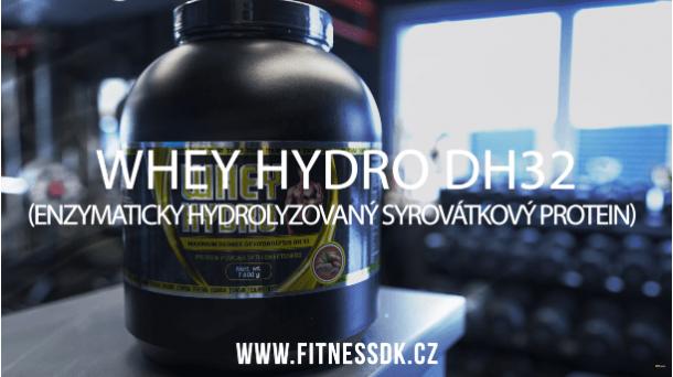 WHEY HYDRO DH32 – jednička ve vstřebatelnosti mezi proteiny